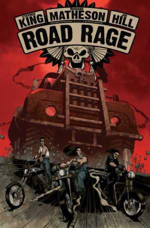 Throttle Duel Cover 300x455 Stephen King en Joe Hill werken samen aan comicreeks Road Rage