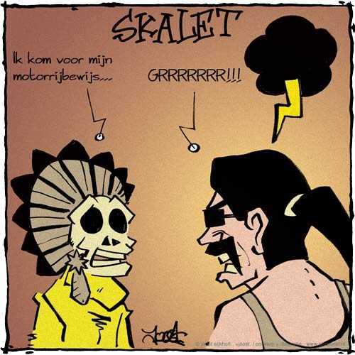 Skalet's road rage