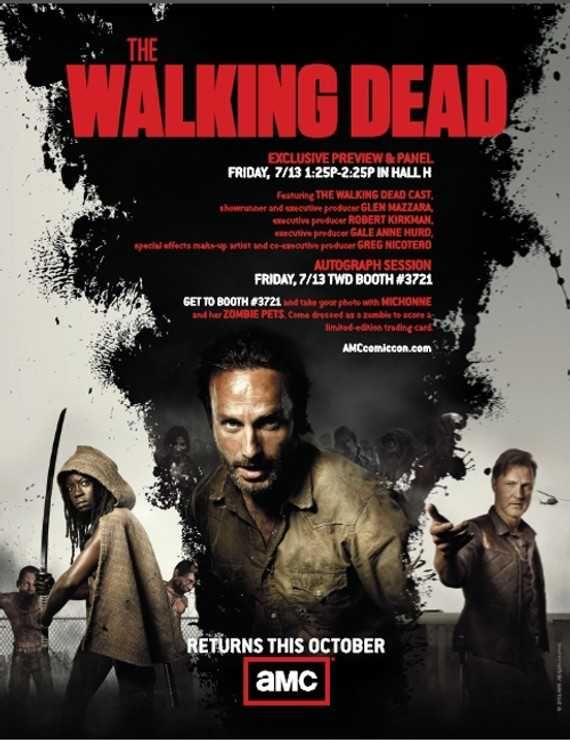The Walking Dead Comic Con The Walking Dead trakteert Comic Con op trailer seizoen 3