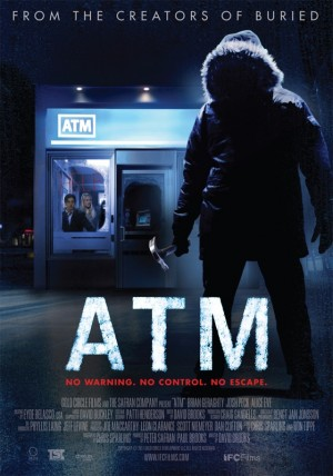 atm poster 300x428 Recensie: ATM (David Brooks, 2012)