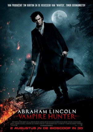 abraham lincoln vampire hunter 3d 56031401 ps 2 s low 300x428 Recensie: Abraham Lincoln: Vampire Hunter (Timur Bekmambetov, 2012)