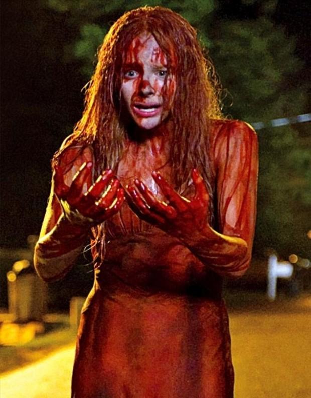 Carrie onder het bloed