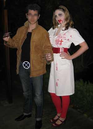 Nurse Death & Wolverine Halloweenkostuum