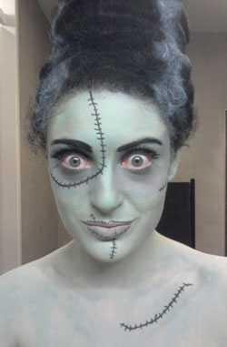 Ongebruikt Halloweenkostuum: 5 simpele 'Last Minute' tips! BE-14