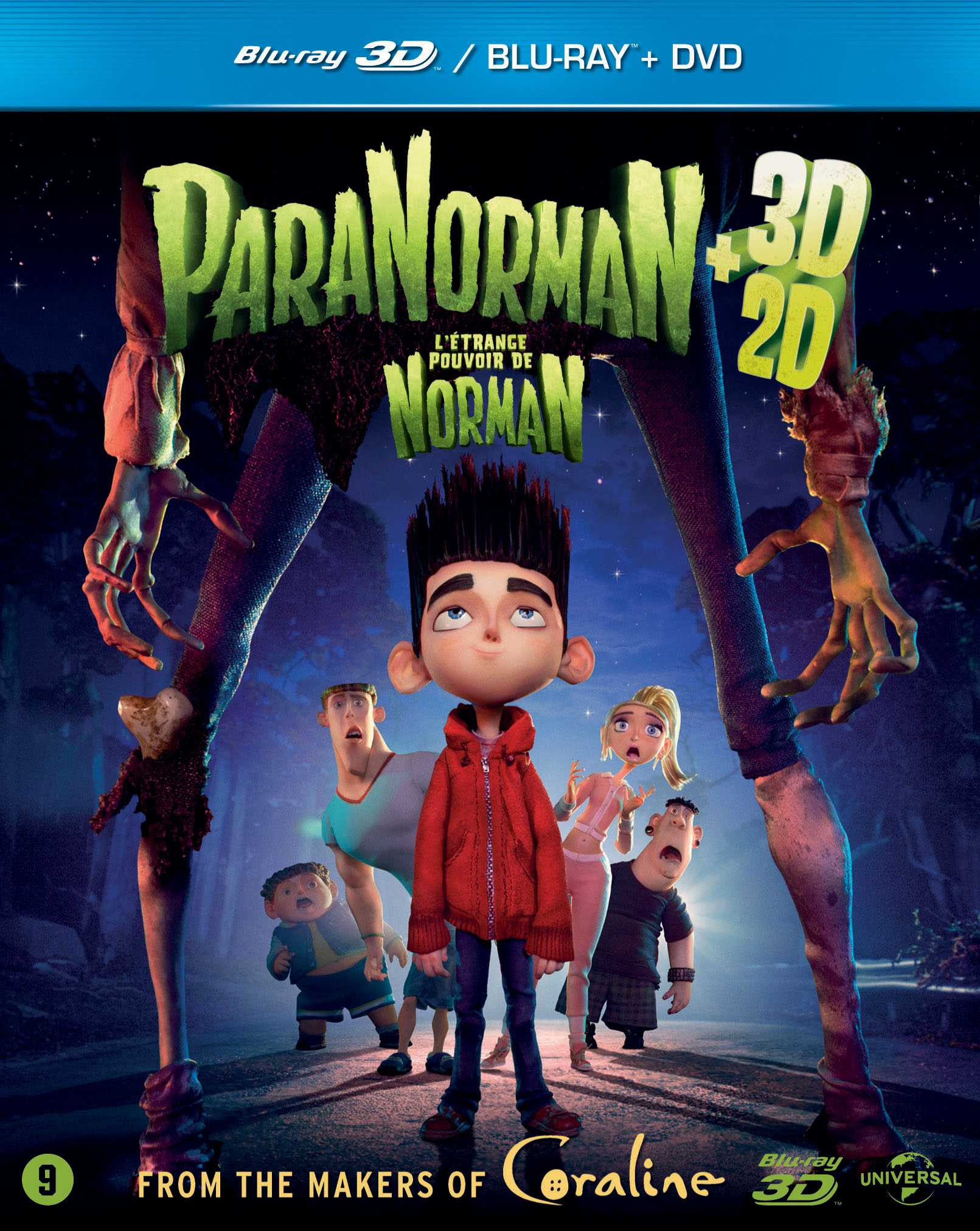 ParaNorman Blu-ray set