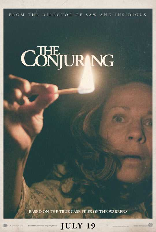 2 the conjuring poster1 Huiveringwekkende trailer voor The Conjuring