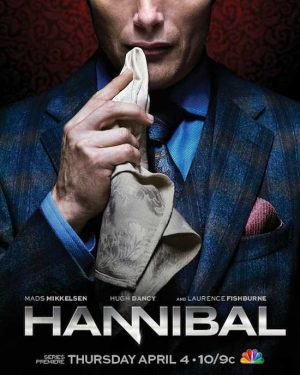 Hannibal S1 poster 300x375 Full length trailer voor de tv serie Hannibal