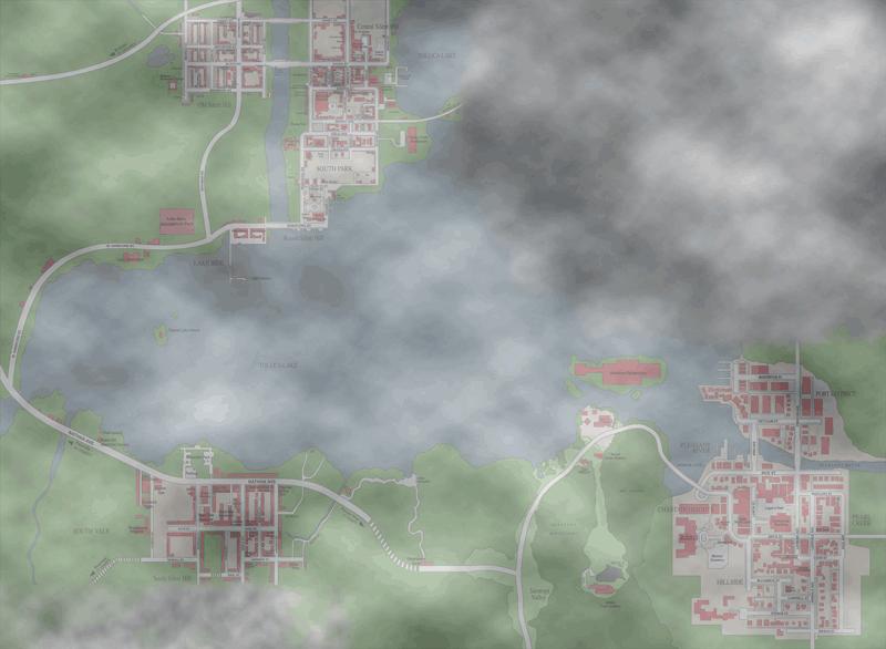 Plattegrond Silent Hill