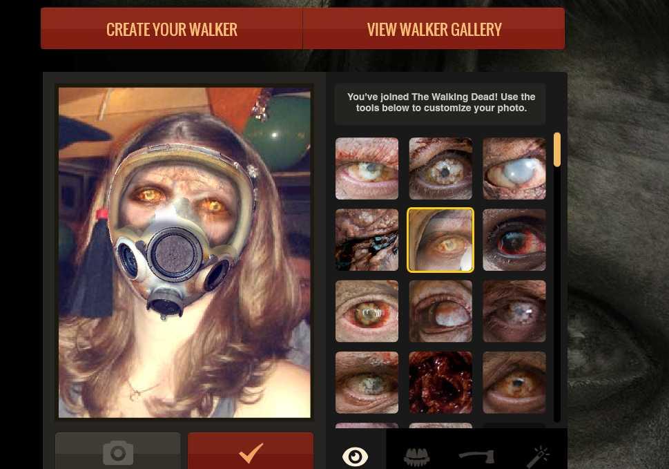 The Walking Dead app