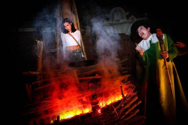 Heksenverbranding Amsterdam Dungeon