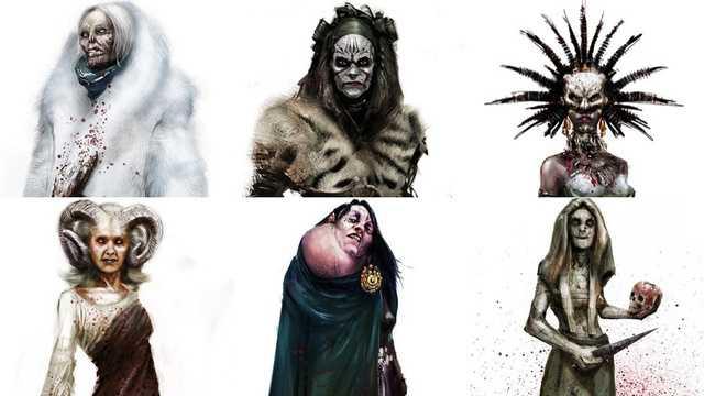 De heksen van Hansel en Gretel Witch Hunters
