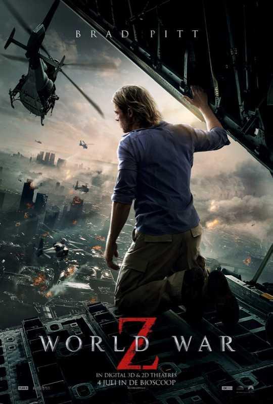 World War Z 3D Brad Pitt