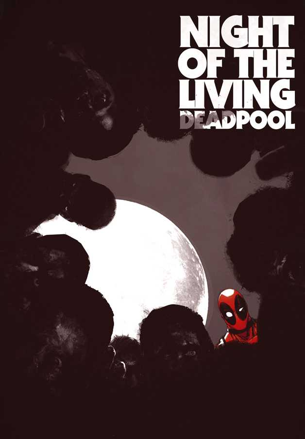 Night of the Living Deadpool cover