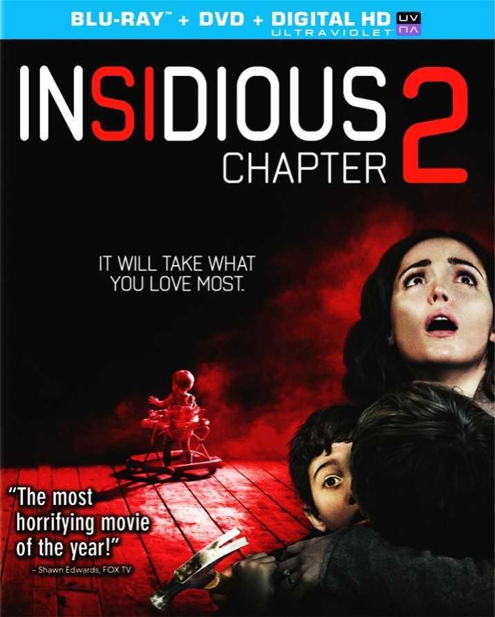 Insidious Chapter 2 Blu-ray