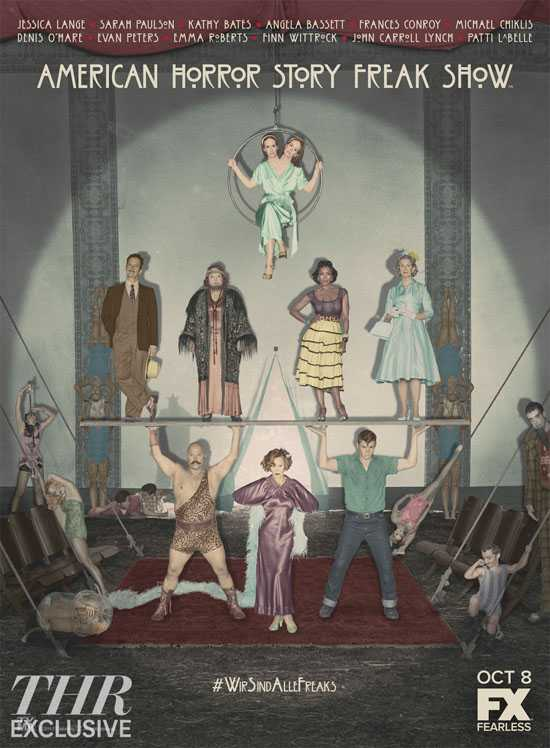 AHS_Freak_Show_Cast_Art