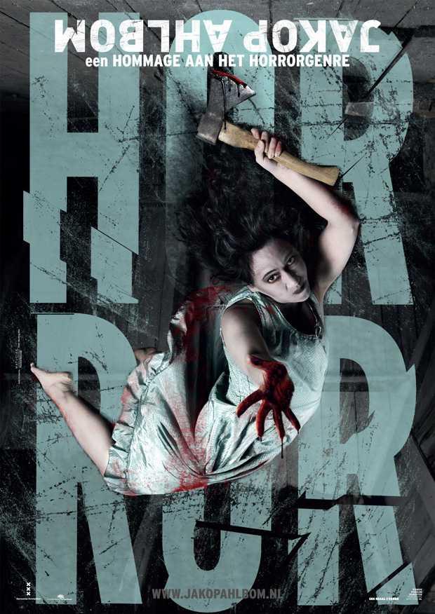 Jakop Ahlbom brengt in het theater een hommage aan horror