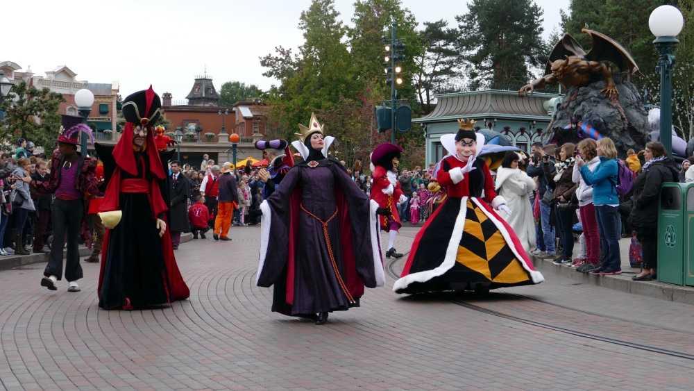Maleficent Disney Villains Promenade, copyright Natasja en Cor Jong