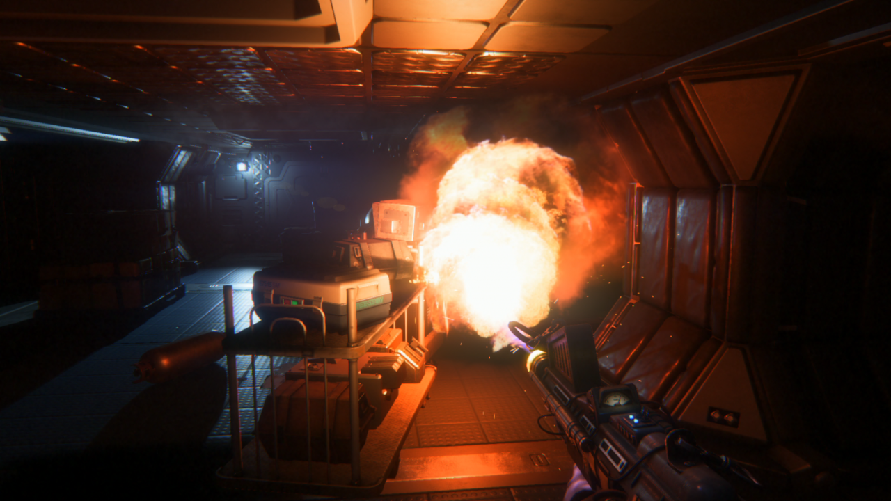 Alien Isolation, shoot!