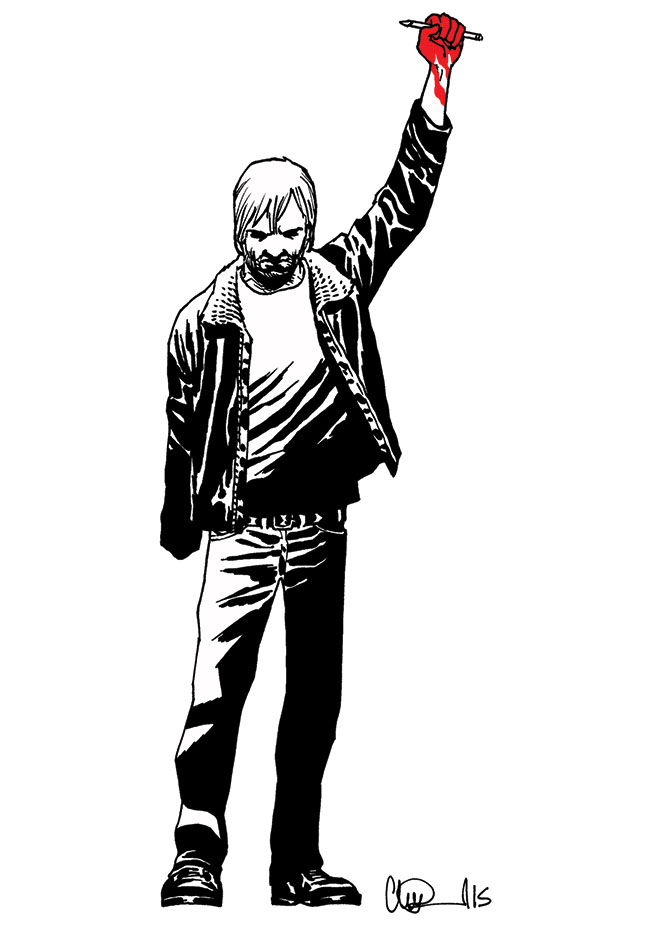 Walking Dead Charlie Hebdo