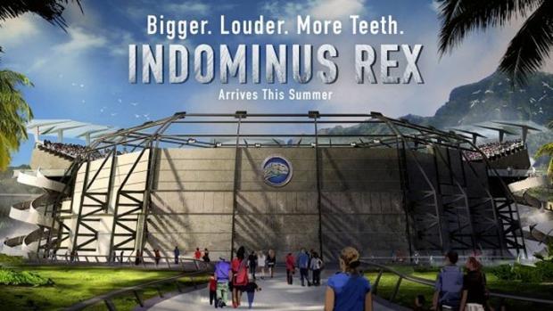d-rex - jurassic world