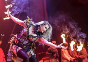Circus of Horrors Amsterdam RAI - Vuur