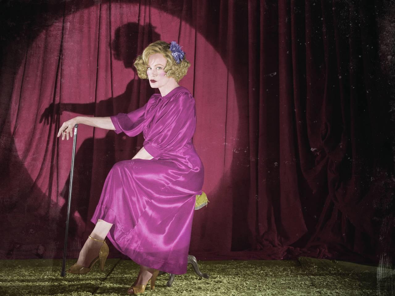 Jessica Lange speelt Elsa Mars in American Horror Story Freak Show