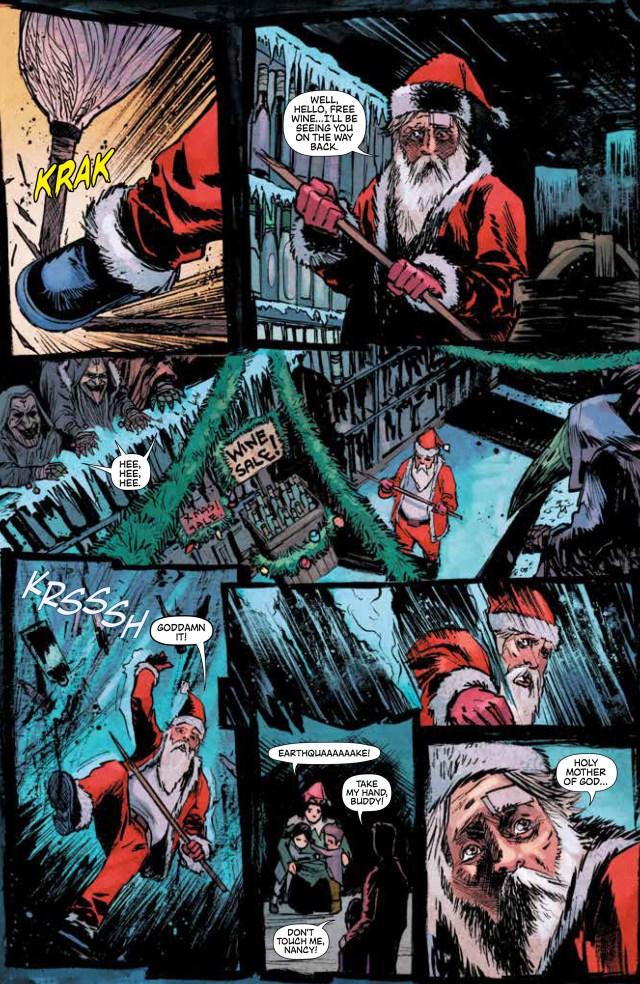Krampus Christmas Comic