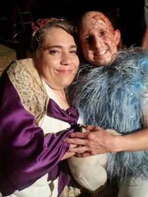 Rose Siggins en Ben Woolf