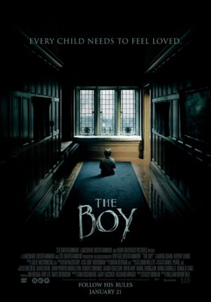 The Boy 2016 William Brent Bell
