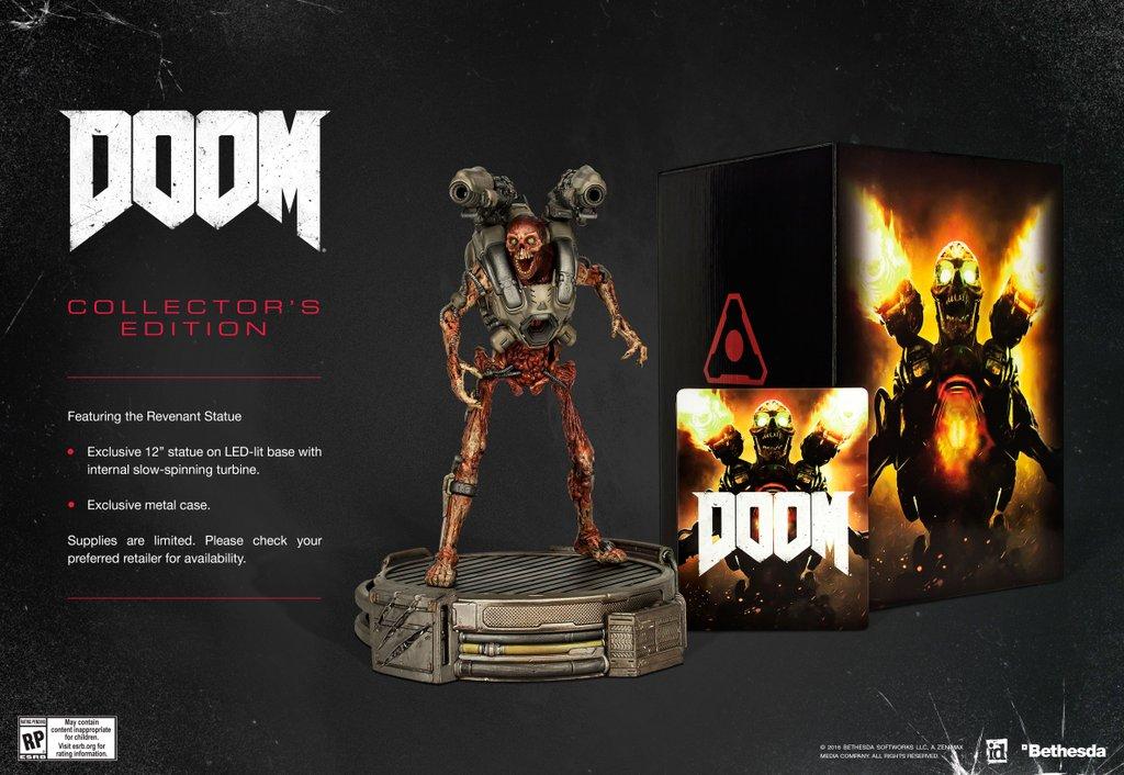 doom 2016 collectors edition