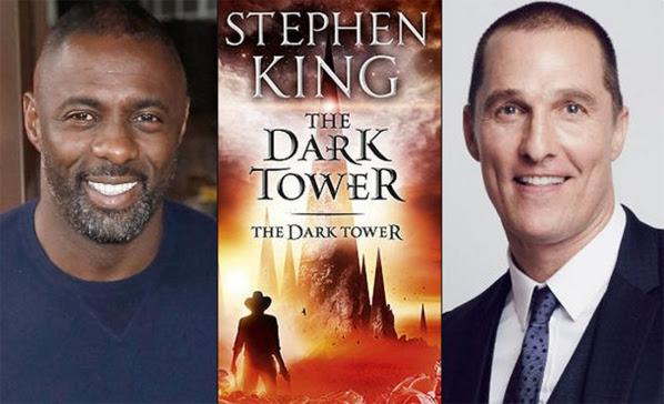 The Dark Tower - cast Matthew McConaughey en Idris Elba