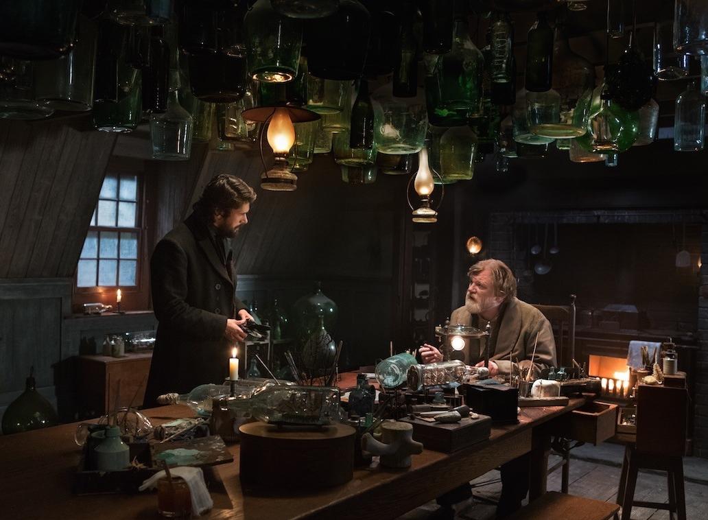 Ben Wishaw als Herman Melville en Brendan Gleeson als de oudere Thomas Nickerson.