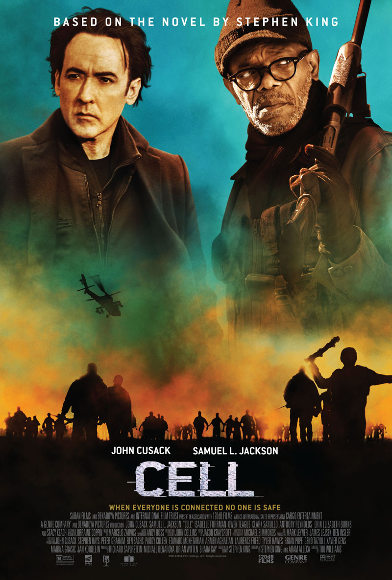 Cell poster - Stephen King