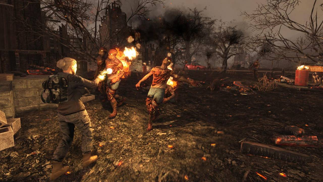 Burning Zombies - 7 days to die