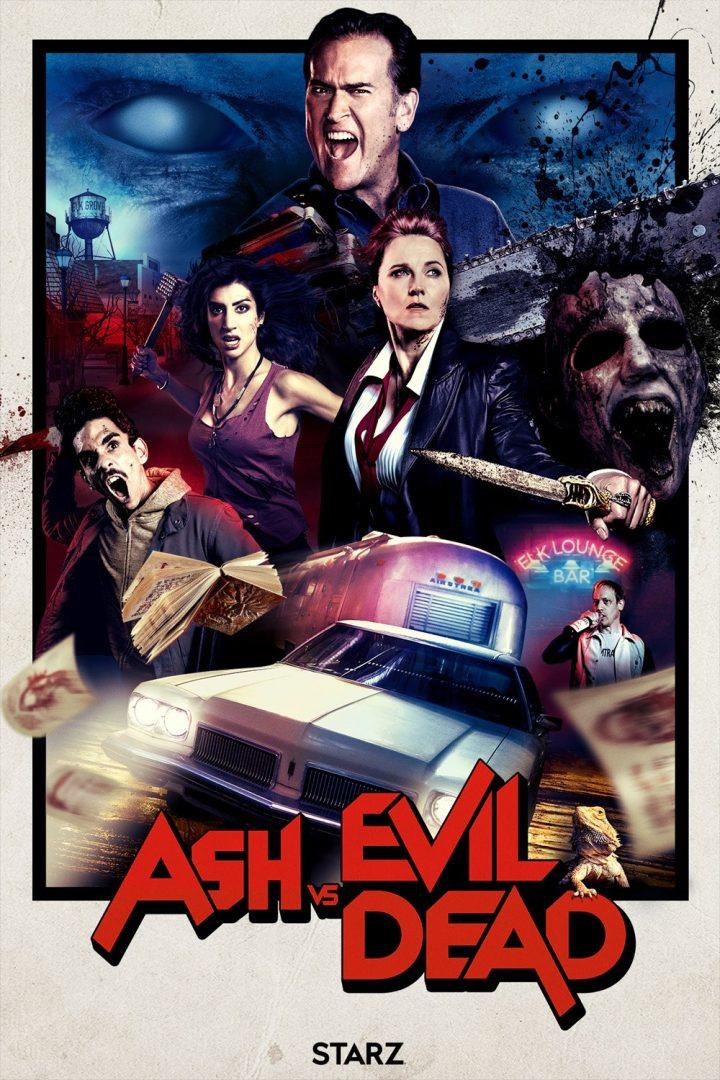 Ash vs Evil Dead 2 Poster San Diego Comic Con
