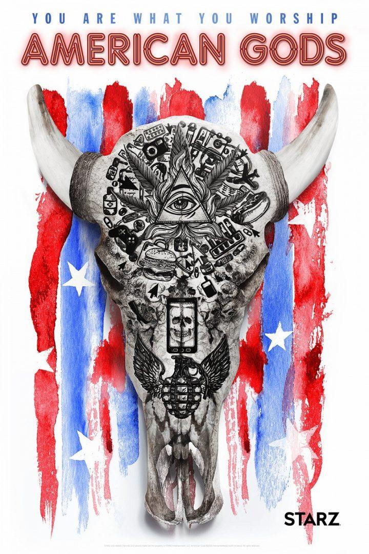 american gods serie poster