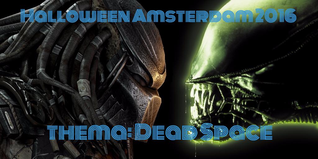 deadspace halloween amsterdam 2016 Alien Predator