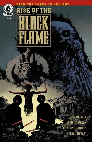 hellboy Rise of the Black Flame