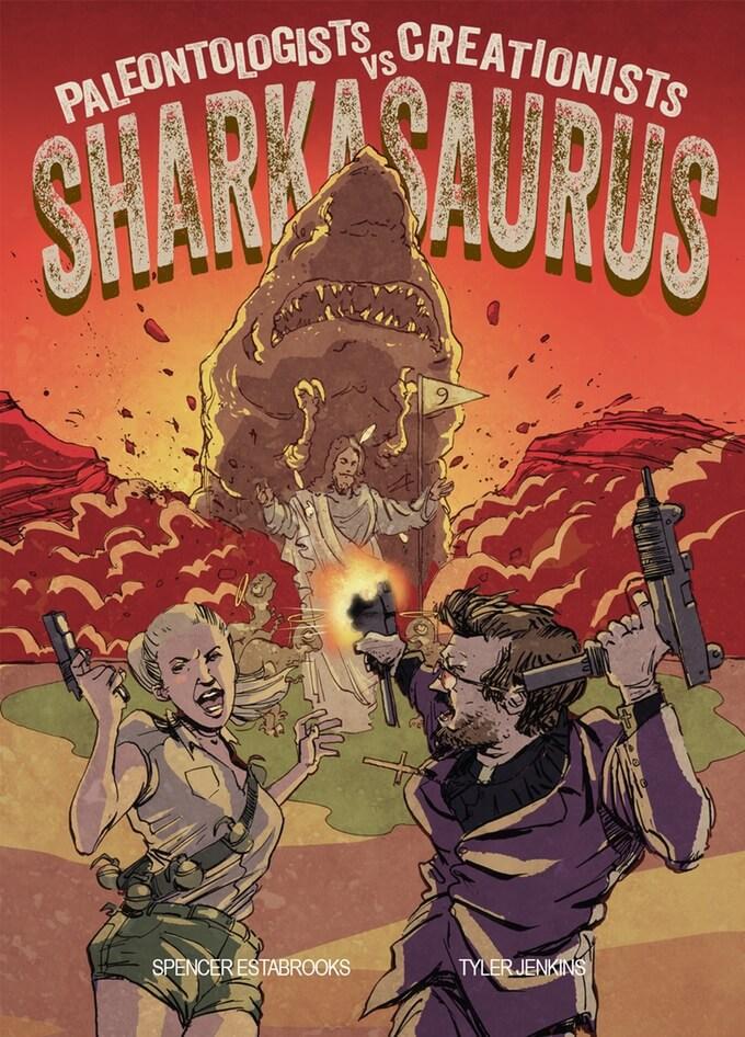 sharkasauras comic