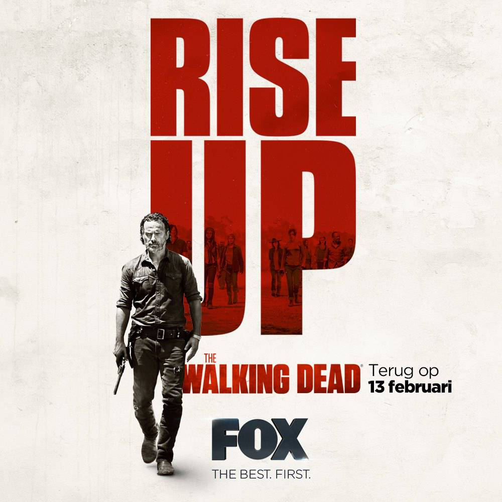 The Walking Dead 7b rise up