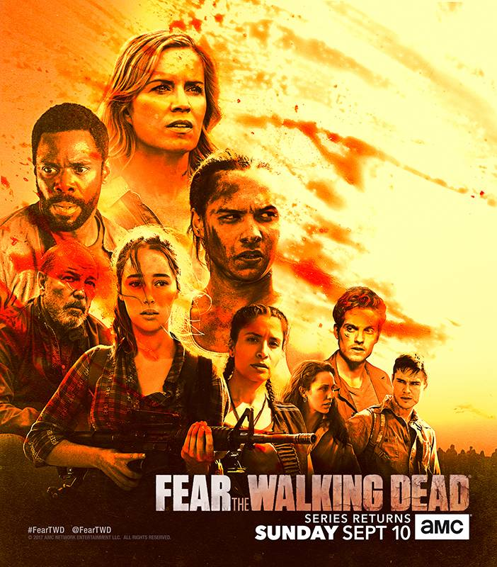 Cast of Fear the Walking Dead- Fear the Walking Dead _ Season 3 - Photo Credit: AMC