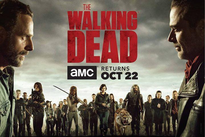Cast of the Walking Dead- The Walking Dead _ Season 8 - Photo Credit: AMC