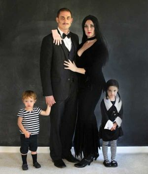 Cosplay Addams Family