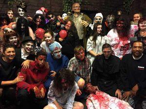 Haunted Hall Beverwijk scare actors