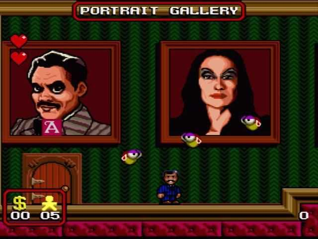 The Addams Family games