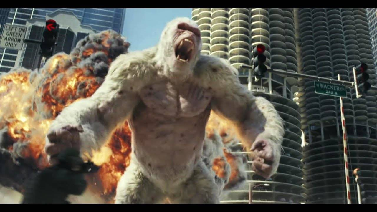 Ps4 Games Rated E : Dwayne the rock johnson in epische gameverfilming rampage