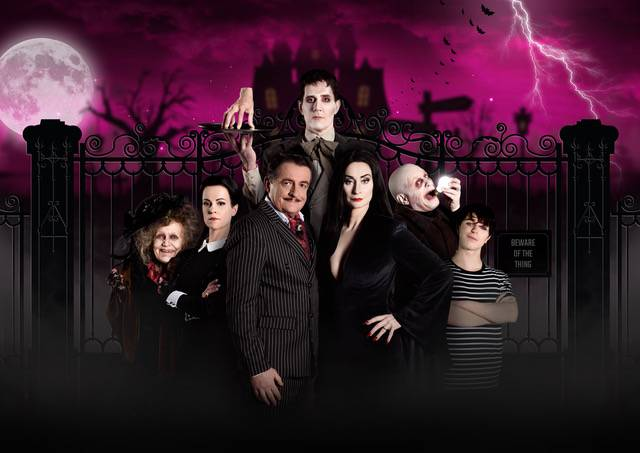 Nederlandse cast The Addams Family Copyright Margot de Heide