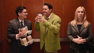 Dougie heeft ze niet helemaal op een rijtje maar hij is dol op koffie