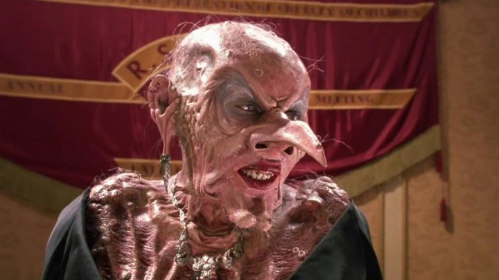 Anjelica Huston in The Witches van Nicolas Roeg uit 1990