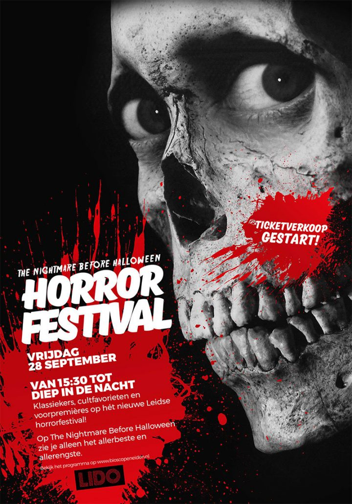 Nightmare before Halloween - Horrorfestival in Leiden - poster